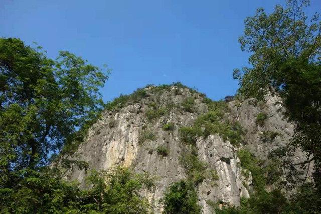 Snímek: Krasové hory v Qunanu (Foto: Cheng Bin)